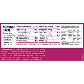GU Energy Gel Kombipaket Tri Berry Vorratsbeutel 480g + Gel 3 x 32g + Flask
